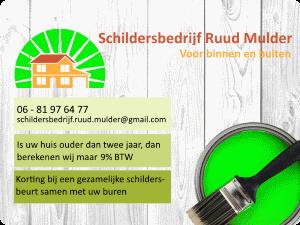 Schildersbedrijf Ruud Mulder